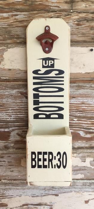 Bottoms Up! (Beer:30) Beer Bottle Opener