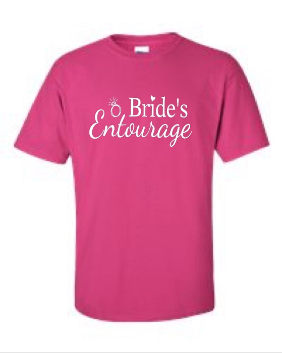 Bride To Be Amp Bride S Entourage Bridal Party Universal Fit