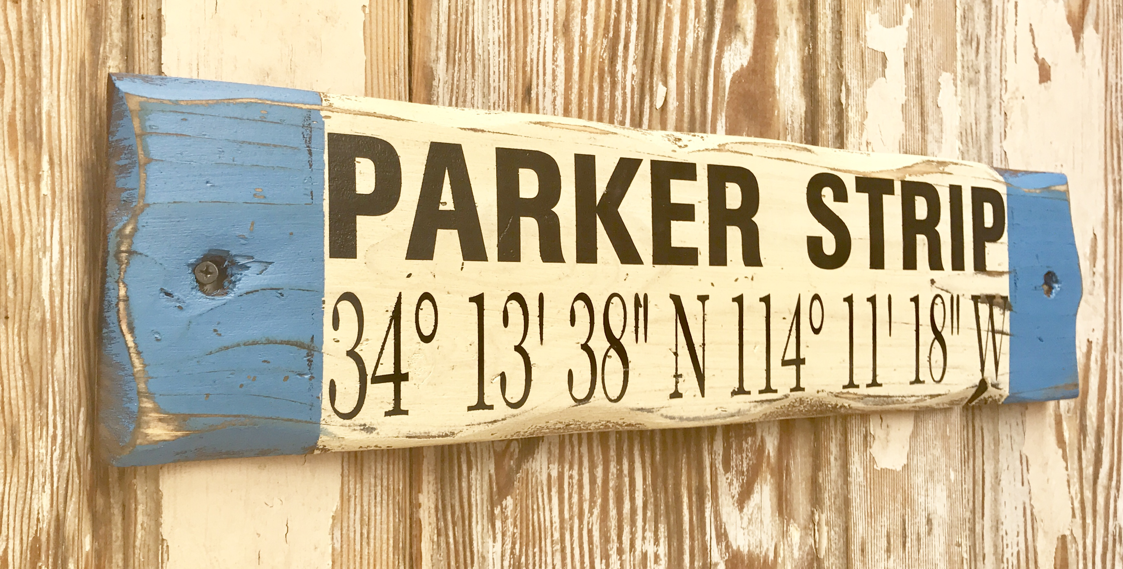 Custom Gps Coordinates Sign Rustic Wood Sign Great For