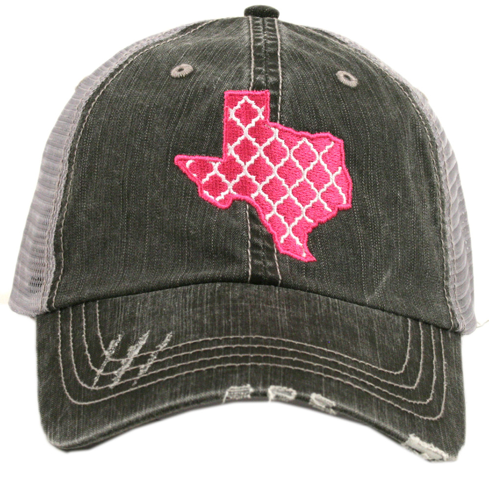 Embroidered Moroccan Texas. Women s Trucker Hat ac94904dd9