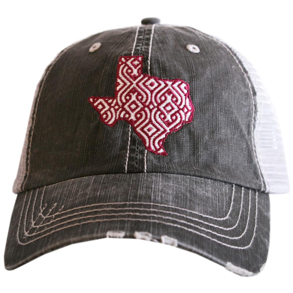 Texas Ikat Women S Trucker Hat