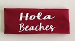 Hola Beaches.  Headband