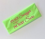 It's Not Swagger, I'm Just Sore.  Headband