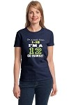 On A Scale From 1-10 I'm A 12.  Go Hawks!  Ladies T-Shirt