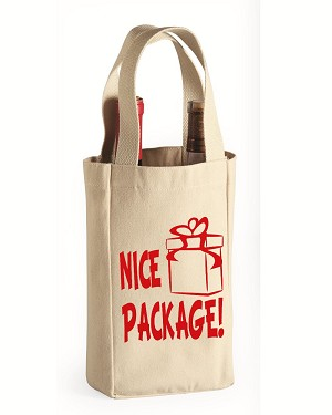 Nice Package!  Double Bottle Wine Tote