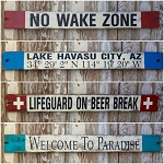 Rustic Style Signs