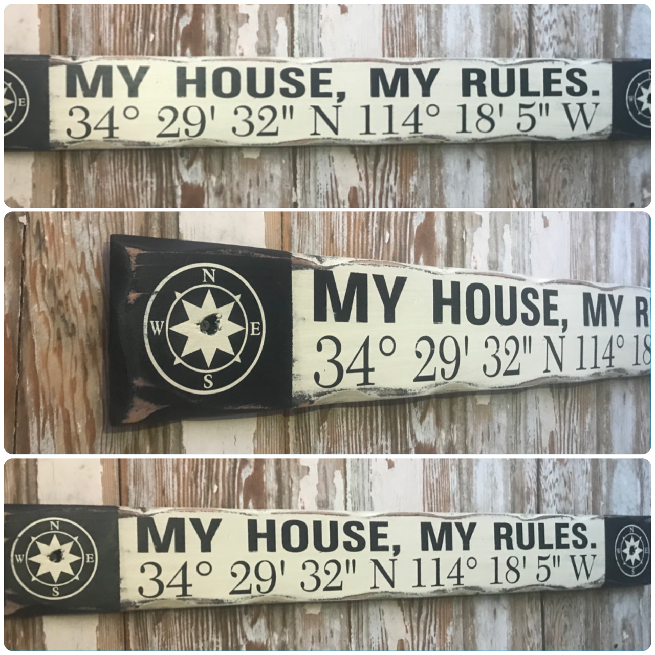 MY HOUSE MY RULES SIGN