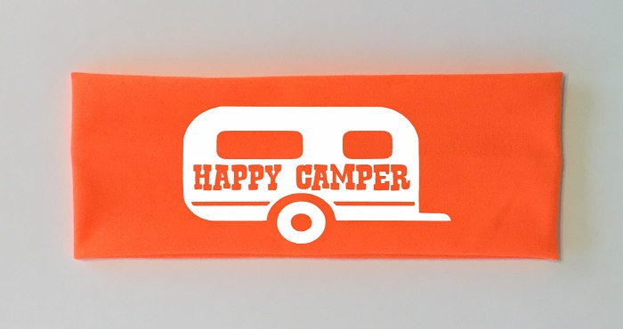 Happy Camper.  Headband