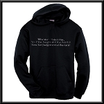 Dear Santa, Yes I Was Naughty And It Was Worth It You Fat Judgemental Bastard!  Hoodie