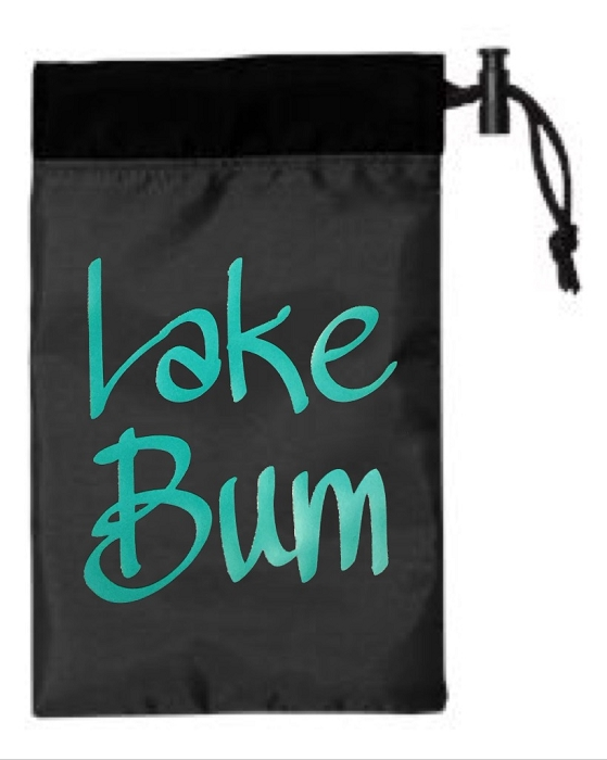 Lake Bum.  Cinch Tote