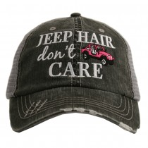 Jeep Hair Don't Care.  Women's Trucker Hat
