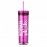 Football Mom.  16 ounce Tumbler