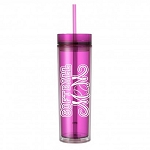 Softball Mom.  16 ounce Tumbler