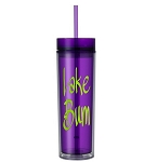 Lake Bum.  16 ounce Tumbler