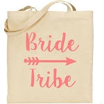 Bride Tribe.  Canvas Tote Bag