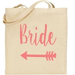 Bride.  Canvas Tote Bag
