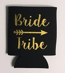 Bride Tribe.  Collapsible Can Cooler / Coozie