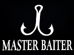 Master Baiter.  Vinyl Decal