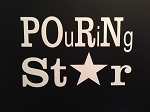 POuRNing Star.  Vinyl Decal