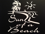 Sun Of A Beach.  Vinyl Decal