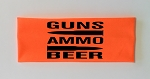 Guns.  Ammo.  Beer.  Headband