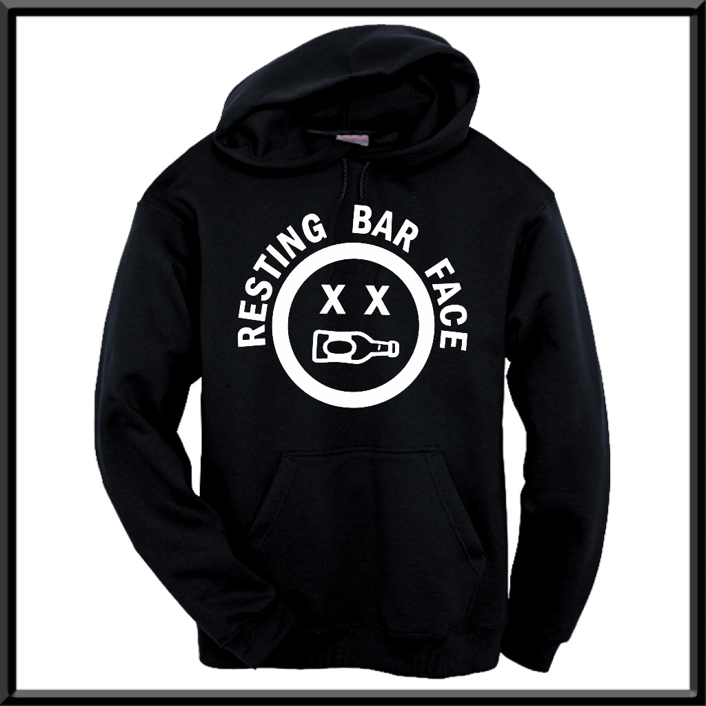 Resting Bar Face.  Hoodie