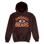 Chicago Bears.  Football Hoodie