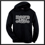 Band Mom Hoodie With Option To Personalize With Childs Name