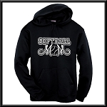 Softball Mom Hoodie With Option To Personalize With Childs Name and Number