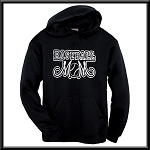Baseball Mom Hoodie With Option To Personalize With Childs Name and Number