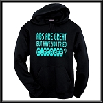 Abs Are Great.  But Have You Tried Cupcakes?  Hoodie