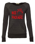 Nice Package!  Women's Scoop Neck Sweatshirt