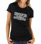 Band Mom With Option To Customize With Kids Name and Number  Ladies T-Shirt