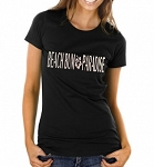 Beach Bum Paradise.  Ladies T-Shirt