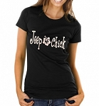 Jeep Chick.  Ladies T-Shirt
