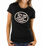SUP.  Ladies Fitted T-Shirt