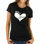 Drunk In Love.  Ladies Fit T-Shirt