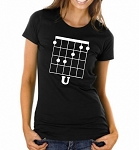 F (note) U!  Ladies Fit T-Shirt