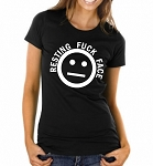 Resting Fuck Face.  Ladies Fit T-Shirt