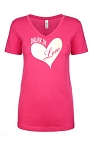 Drunk In Love.  Ladies Fit V-Neck T-Shirt
