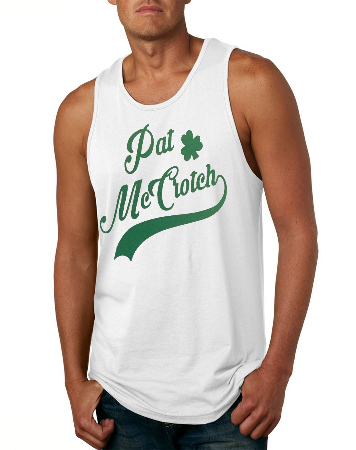 Pat McCrotch.  Men's Tank Top
