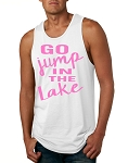 Go Jump In The Lake.  Men's Tank Top