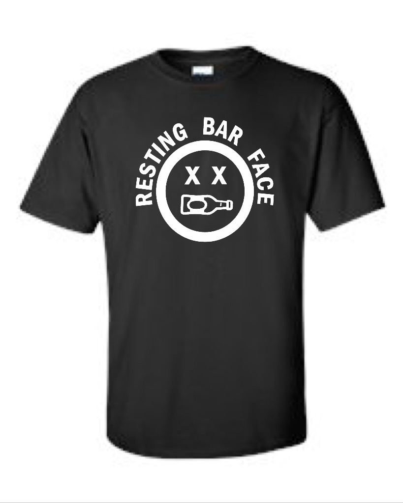 Resting Bar Face.  Men's Universal Fit T-Shirt