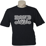 Band Mom.  (Custom Option To Add Child's Name On Back).  Men's / Universal Fit T-Shirt