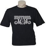 Football Mom.  (Custom Option To Add Child's Name & Number On Back).  Men's / Universal Fit T-Shirt