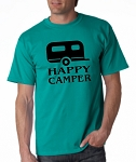 Happy Camper.  Men's Universal Fit T-Shirt