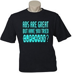 Abs Are Great But Have You Tried Cupcakes?  Men's / Universal Fit T-Shirt