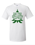 The Tree Isn't The Only Thing Getting Lit This Year.  Men's Universal Fit T-Shirt