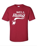 Well Hung.  Men's Universal Fit T-Shirt