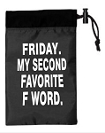 Friday.  My Second Favorite F Word.  Cinch Tote